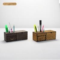 健荣1号 桌面文具置物盒 笔插