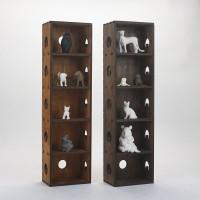 浩峰1号DIY收纳整理盒横纵挂墙桌面天然木纹