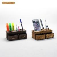 健荣3号DIY  创意文具笔插 桌面收纳盒